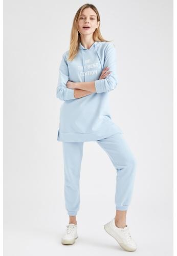 DeFacto blue Regular Fit Jogger Sweatpants 088E7AAF05B950GS_1