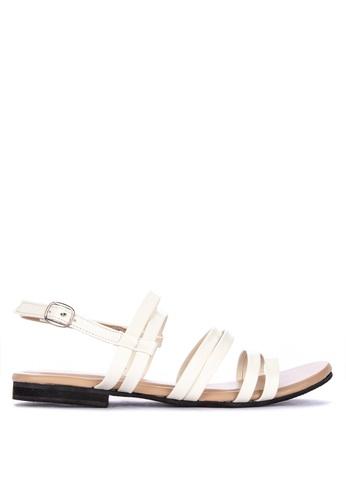 77ef6ae4c6cbc Shop Mishka Joliza Strappy Flat Sandals Online on ZALORA Philippines