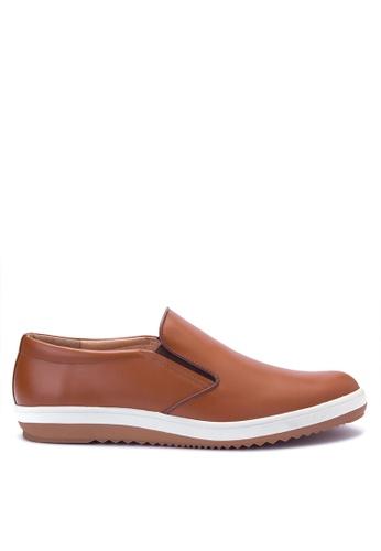Bristol Shoes brown Lowell Brown Sneaker BR842SH0JID7PH_1