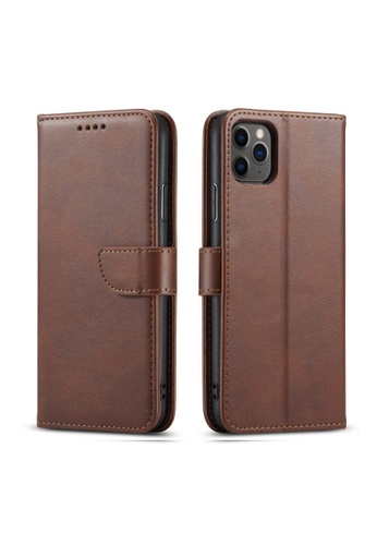 Kings Collection brown PU Calf Leather iPhone 12 Pro / 12 Case (KCOCS21047) 7E870AC046D2C4GS_1