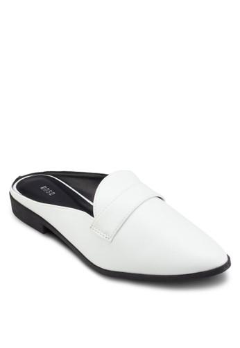 esprit暢貨中心尖頭休閒懶人拖鞋, 女鞋, 鞋