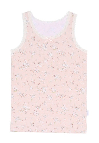 Chica Chico pink Yellin Girl Undershirts 0615CKA1F2BB75GS_1