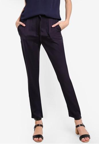 esprit 鞋腰繫帶紙袋長褲, 服飾, 長褲及內搭褲