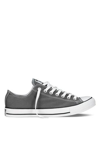 dc256799deb6e2 Converse grey Chuck Taylor All Star Core Ox Sneakers 28BBBSHA32959EGS 1