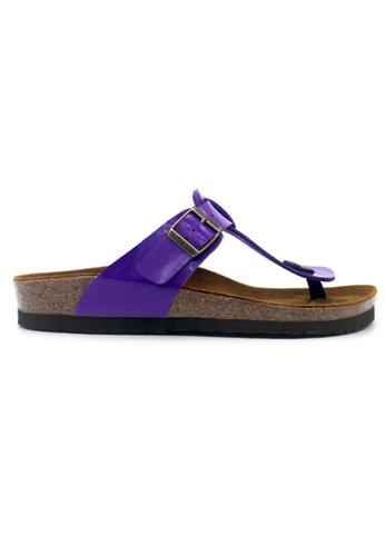 SoleSimple purple Copenhagen - Glossy Purple Sandals & Flip Flops C52D2SH380185DGS_1