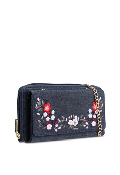 895ae0cf3532 9% OFF Marie Claire Sling Embroidered Wallet RM 109.00 NOW RM 99.00 Sizes  One Size