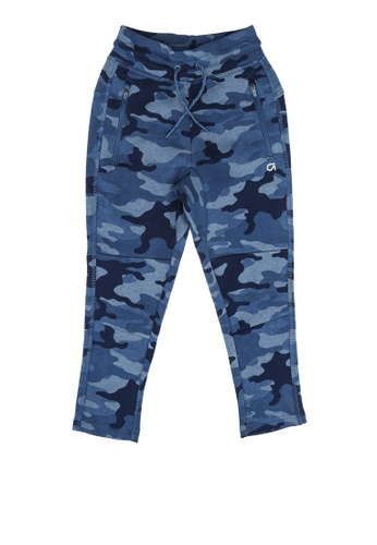GAP blue Cozy Tech Pant 1A286KA1668AC8GS_1
