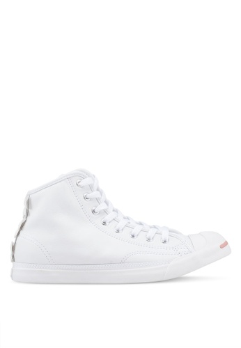 682341dce8dac8 Converse white Jack Purcell Leather Bows LP L S Mid Sneakers  F6DA2SHA10A480GS 1