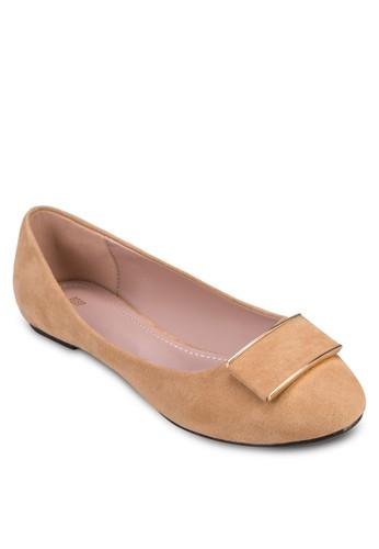 基本款平底zalora 順豐鞋, 女鞋, 芭蕾平底鞋
