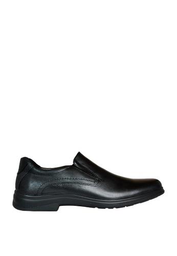 Hush Puppies black Delta Casual Shoes HU326SH0KTIOPH_1