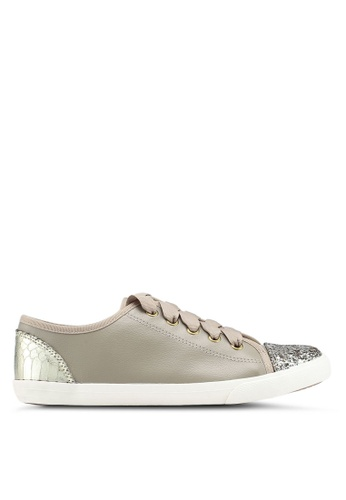 Miss KG beige Lucca Nude Synthetic Sneakers 6858DSH596BF88GS_1