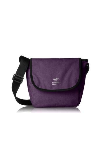 Anello purple Folded Mini Shoulder Bag AT-N0661-PU Purple AN821AC2VAXGHK_1