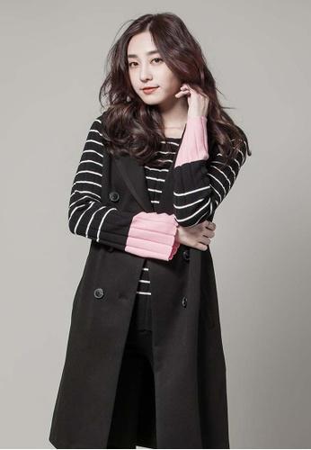 H:CONNECT black Dress Like Vest 86FF1AA34C1371GS_1