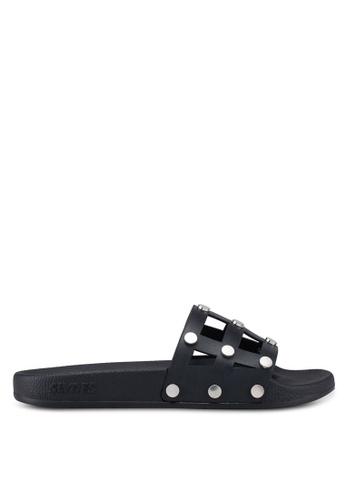Slydes black Rebel Sandals 39F2ESHDEFB959GS_1