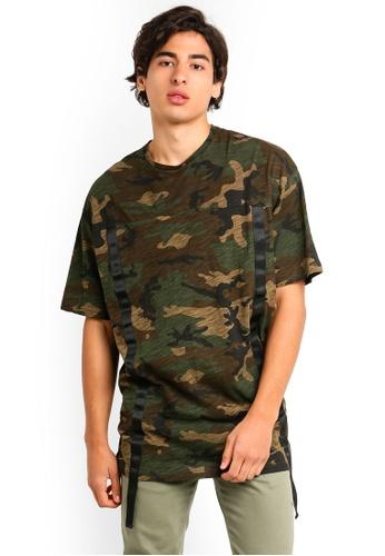 Flesh IMP 多色 Oversized T恤 F1374AA8C46E7CGS_1