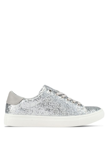 addicts anonymous silver Charlotte Glitter Sneakers AD479SH0SR5KMY_1