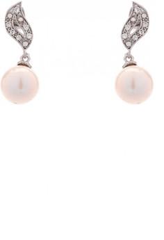 Genuine Freshwater Pearl Dangling Earrings 14