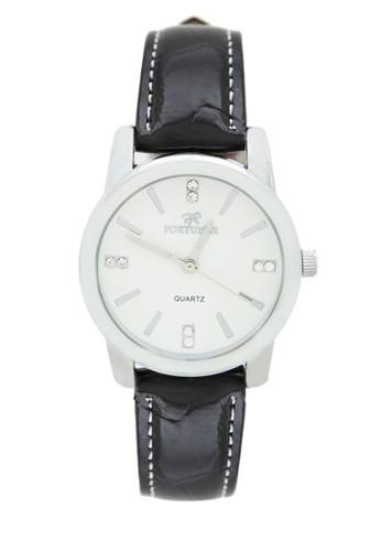 Fortuner Watch Jam Tangan Wanita FR K4855L - Silver