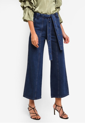 Haute Kelly blue Hyun-A Wide Jeans 79E3EAAED33487GS_1