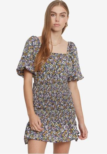 Savel purple Ranya Mini Dress 0D9F3AAFF92F5AGS_1