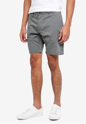 SPARROW GREEN grey Drake Shorts 65F72AA43F4C4BGS_1