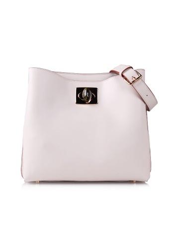 VOIR beige VOIR Knot Shoulder Bag - Beige 09D86AC73E9B0BGS_1