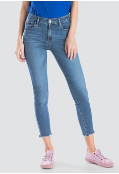26399d72a72 Levi s blue Levi s Womens 721 High Rise Skinny Ankle Jeans 22850-0033  58F17AA7ABB231GS 1