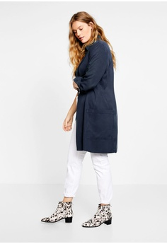 5fe478011a0c 47% OFF Violeta by MANGO Plus Size Flowy Long Shirt RM 282.90 NOW RM 149.00  Sizes S M L XL XXL
