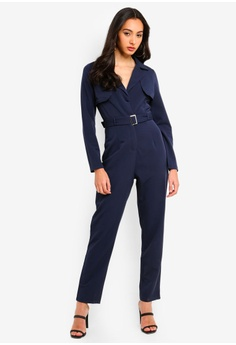 9ff3517d2ec9 40% OFF MISSGUIDED Belted Utility Jumpsuit S  94.90 NOW S  56.90 Sizes 6 8  10 12 14