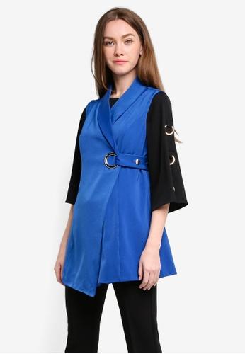 Megane blue Laverna Top ME617AA0RR35MY_1