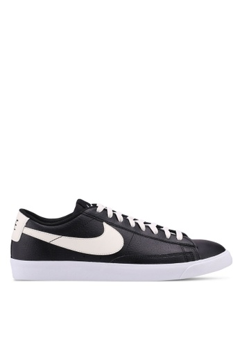 Nike black Nike Blazer Low Leather Shoes FAACCSH3E599DCGS_1