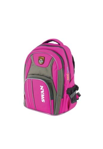 Swan pink Swan Bag Ergolite Junior Ergonomic Spinal Protection Children Back Support Spacious 6359EKC68AC4ACGS_1