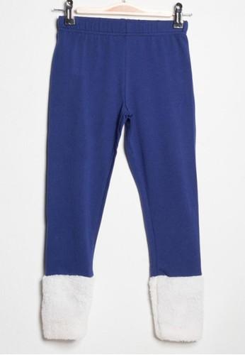 Bossini blue Bossini Kids Girl Legging Copen Blue (74651303050) 7A37FKA268B8E7GS_1