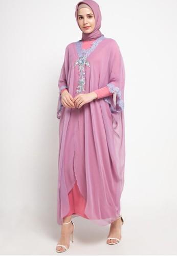LUIRE by Raden Sirait purple MS Kaftan Cetar VP D8AAFAA44AC4D8GS_1