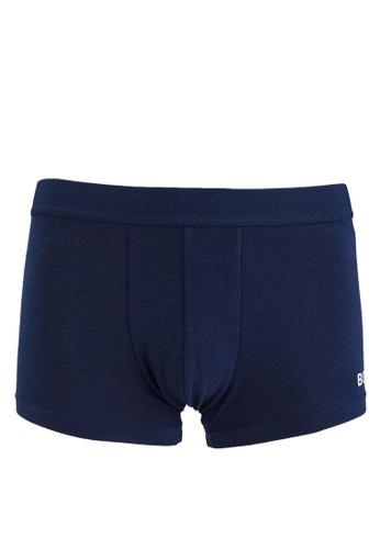 BOSS blue Logo Trunks - BOSS Bodywear 2BE87US30ABEB6GS_1