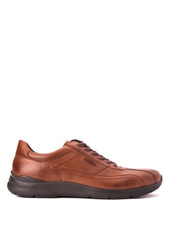 ECCO brown Irving Formal Shoes EC876SH0JC87PH_1