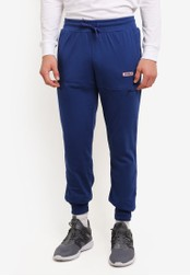 2GO blue Cut and Sew Track Pants 2G729AA0S5WIMY_1