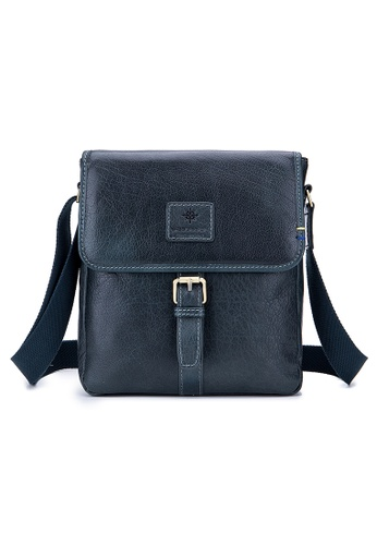 ENZODESIGN green ENZODESIGN Vintage Buffalo Leather A5 Size Mini Shoulder Bag ( I-Pad Size) B11330A-olv BE050ACF629065GS_1