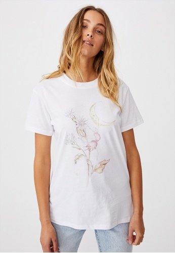 Cotton On white Classic Arts T Shirt 8F69EAA55A2D1AGS_1