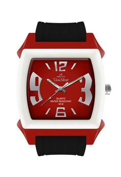KW479 Series Unisex / Rubber Strap Watch KW479-2102
