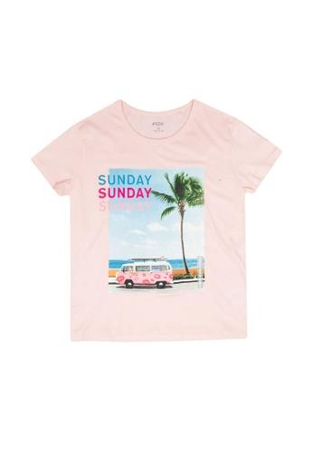 FOX Kids & Baby pink Short Sleeve Tee 50F22KACCD9291GS_1
