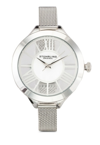 Stuhrling Original silver Women's Quartz Mother of Pearl Dial Watch ST251AC0RFJMMY_1
