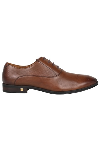 Tomaz brown Tomaz F175 Lace Up Formal (Brown) 64991SH82877B6GS_1