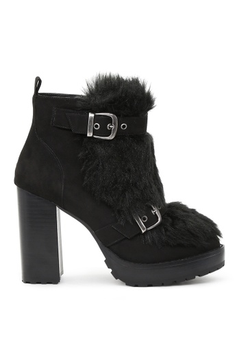 London Rag black Black High Heel Ankle Boots SH1526 5A3C7SHD321EF3GS_1