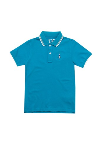 Giordano blue Classic Junior Polo Shirt 66F56KA1D3B0C5GS_1
