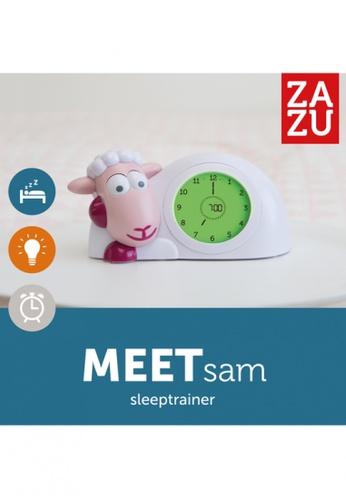 Zazu pink [Zazu Kids] SAM the Lamb, Sleep Trainer with Nightlight, Comes with Analogue and Digital Clock for Kids - Pink 9F645HL9868F26GS_1