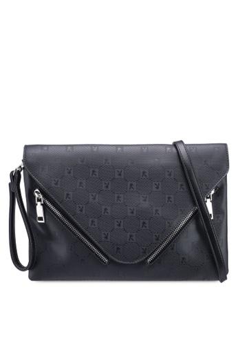 PLAYBOY BUNNY black Playboy Bunny Clutch/Sling Bag BEDCCAC74454B3GS_1