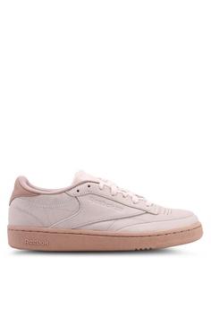2ecd937f35e9c Reebok pink Club C 85 Shoes 29FCBSHD407B4BGS 1