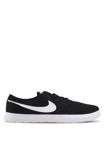 Nike black Men's Nike SB Portmore II Ultralight Skateboarding Shoes NI126SH0KPS6PH_1
