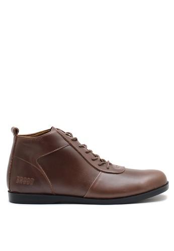 Brodo brown BRODO - Sepatu Pria Ventura Brown BS E87F1SHE2EE6EDGS_1
